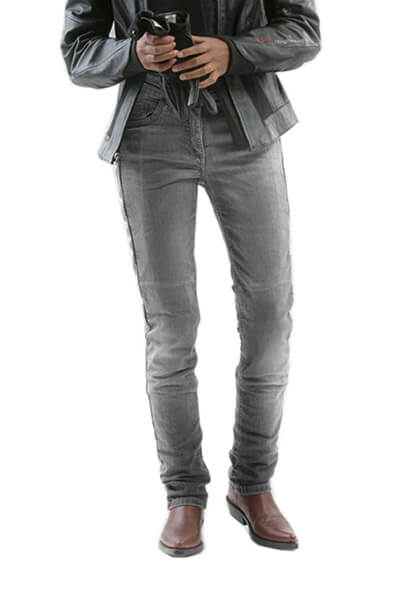 motorcycle kevlar jeans stell grey front mottowear