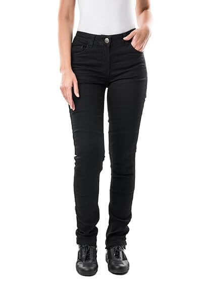motorcycle kevlar jeans Stella black mottowear