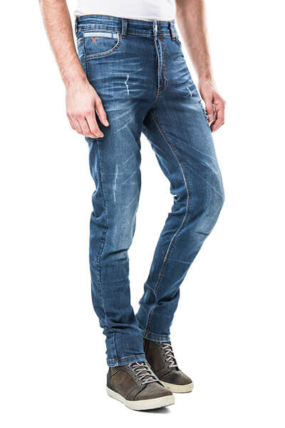 motorcycle kevlar jeans Roma motto wear