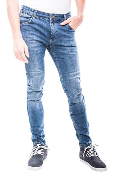 motorcycle skinny jeans Milano motto wear