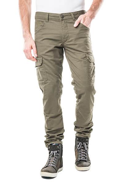 motorcycle cargo pants helios green kevlar mottowear